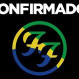 Foo Fighters anuncia quatro apresentações em 2015 no Brasil
